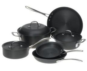 Calphalon 9 piece anodized cookware set